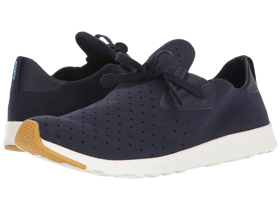 Native Shoes Apollo Moc (Regatta Blue/Shell White/Natural Rubber 2) Shoes
