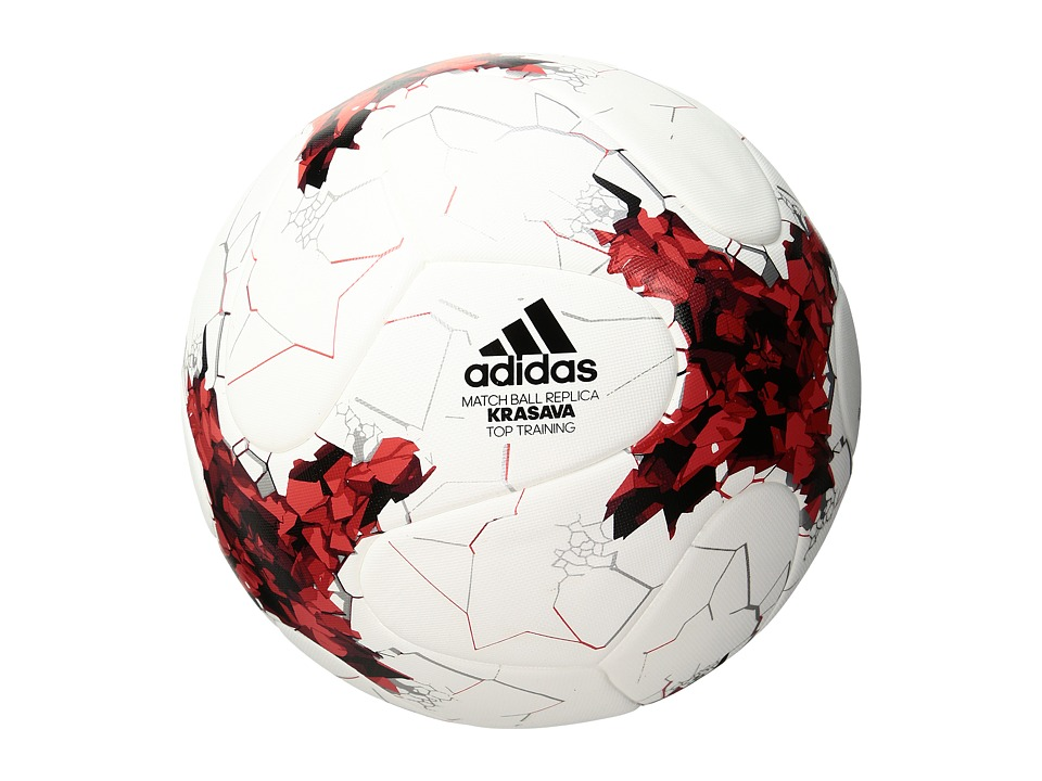 adidas - Confederations Cup Top Replique (White/Red/Power Red) Athletic Sports Equipment