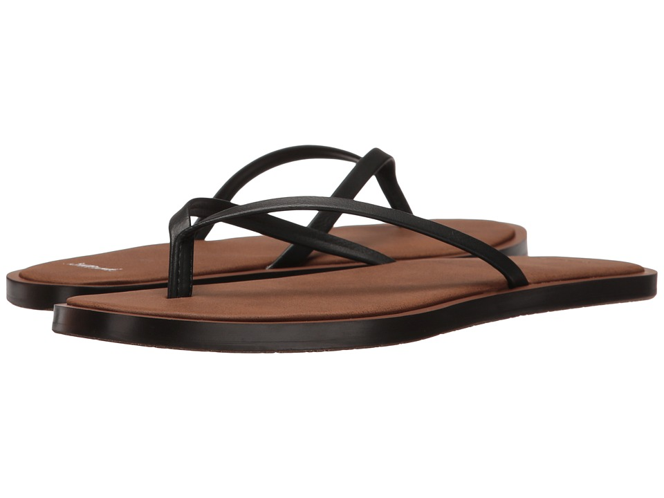 Sanuk Yoga Aurora (Black) Women