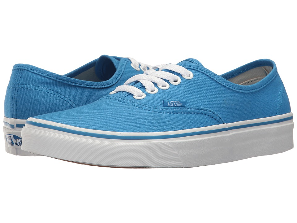 Vans Authentictm (French Blue/True White) Skate Shoes