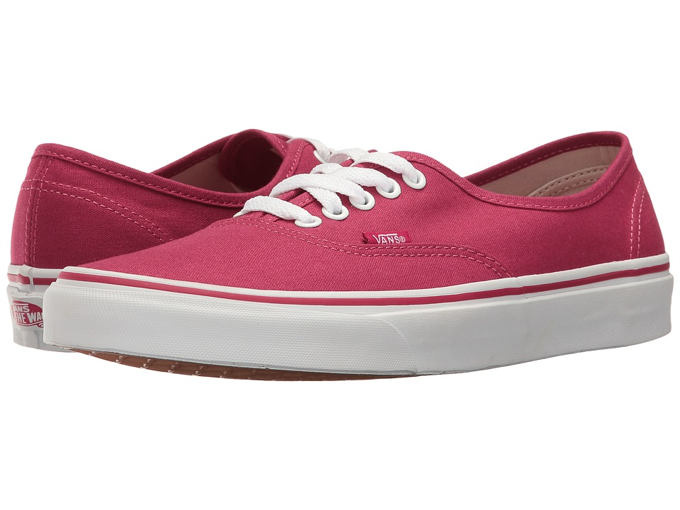 Vans Authentictm (Sangria/True White) Skate Shoes