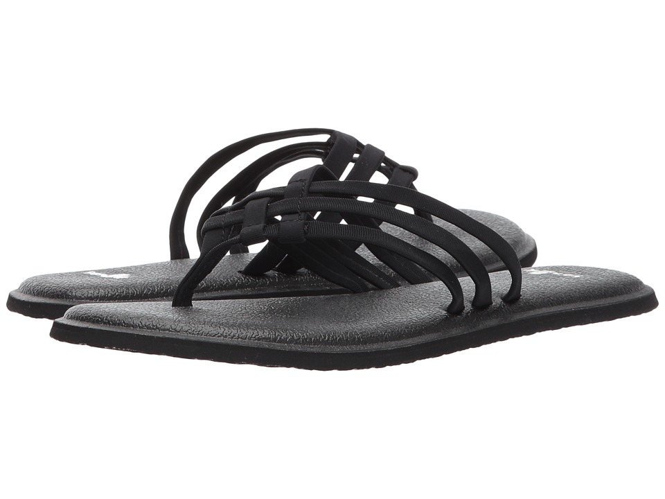 Sanuk Yoga Salty (Black) Sandals