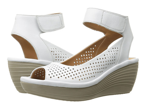 Clarks Reedly Salene - White Leather