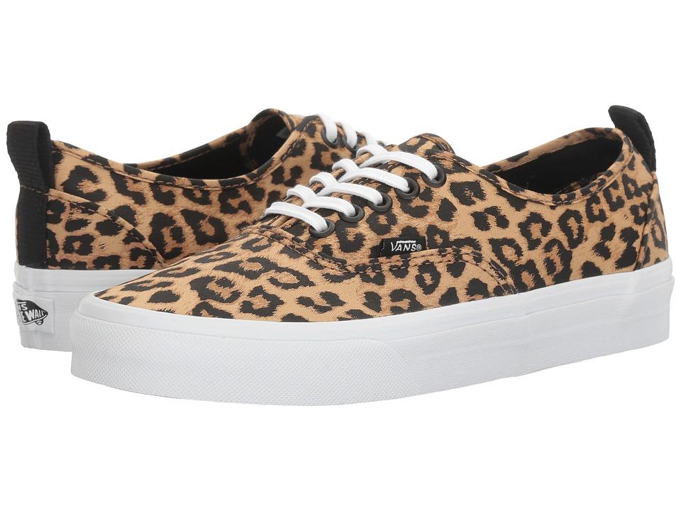 Vans Authentic PT (Leopard/True White) Shoes