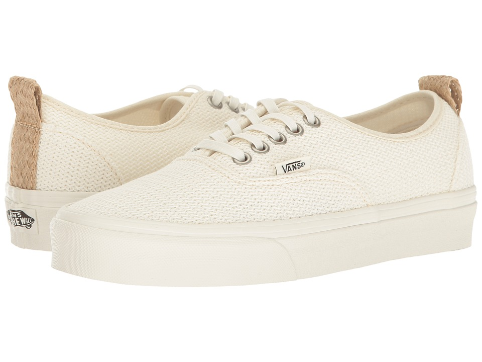 Vans Authentic PT ((Basket Weave) Marshmallow) Shoes