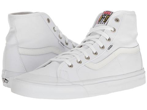 Vans Black Ball Hi SF - White/White