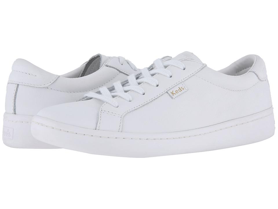 Keds Ace Leather (White/White)