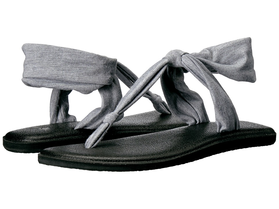 Sanuk Yoga Sling Ella (Grey) Sandals