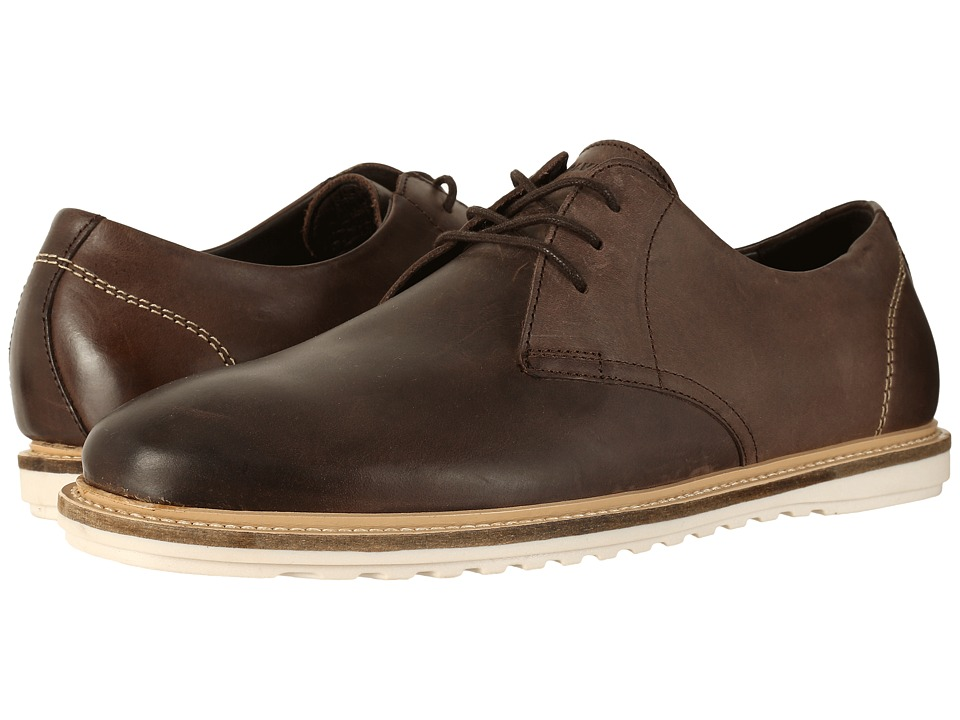 Wolverine Kirk Oxford (Brown Leather) Men