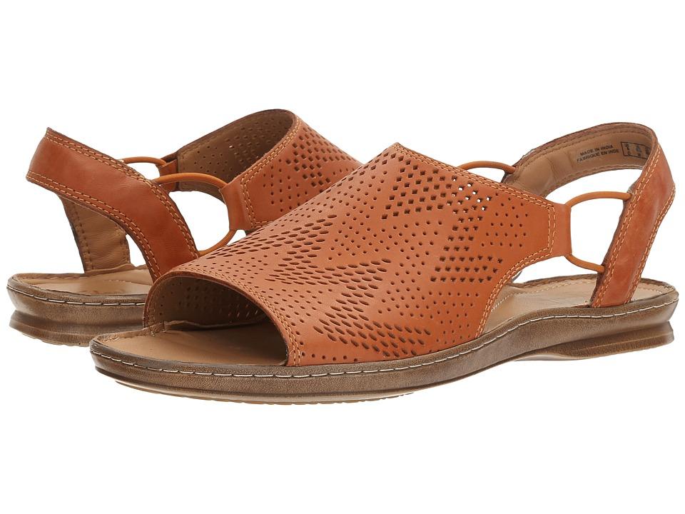 Clarks Sarla Cadence (Tan Leather) Women