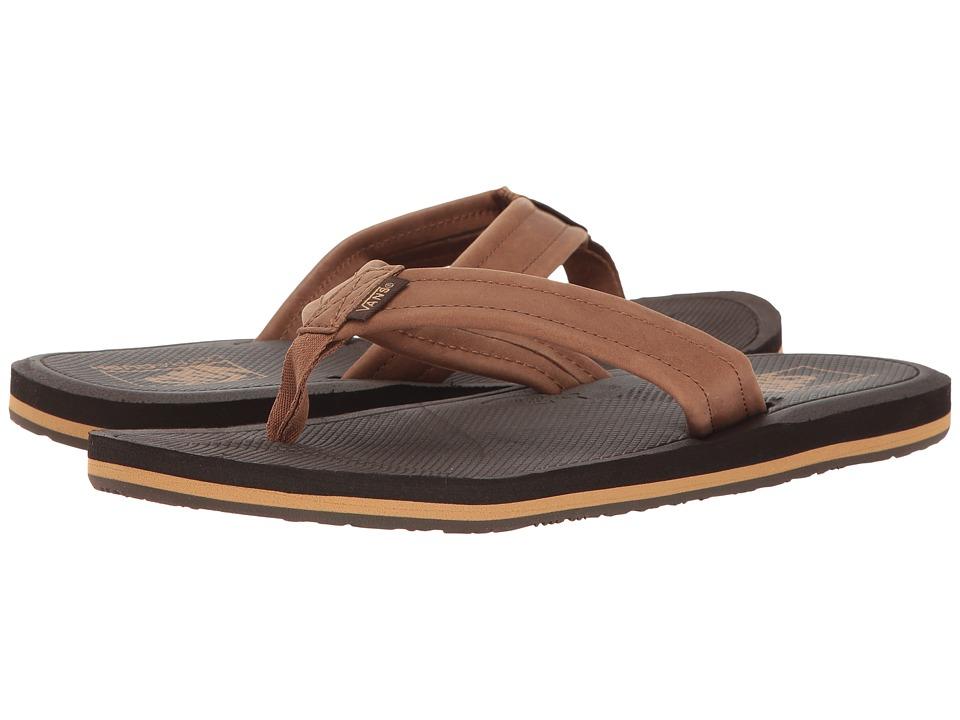 Vans Nexpa Leather (Brown/Espresso) Men