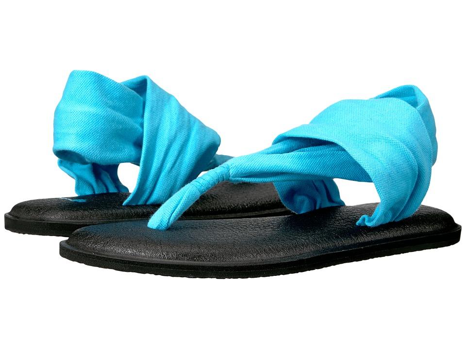 Sanuk Yoga Sling 2 (Aqua) Women