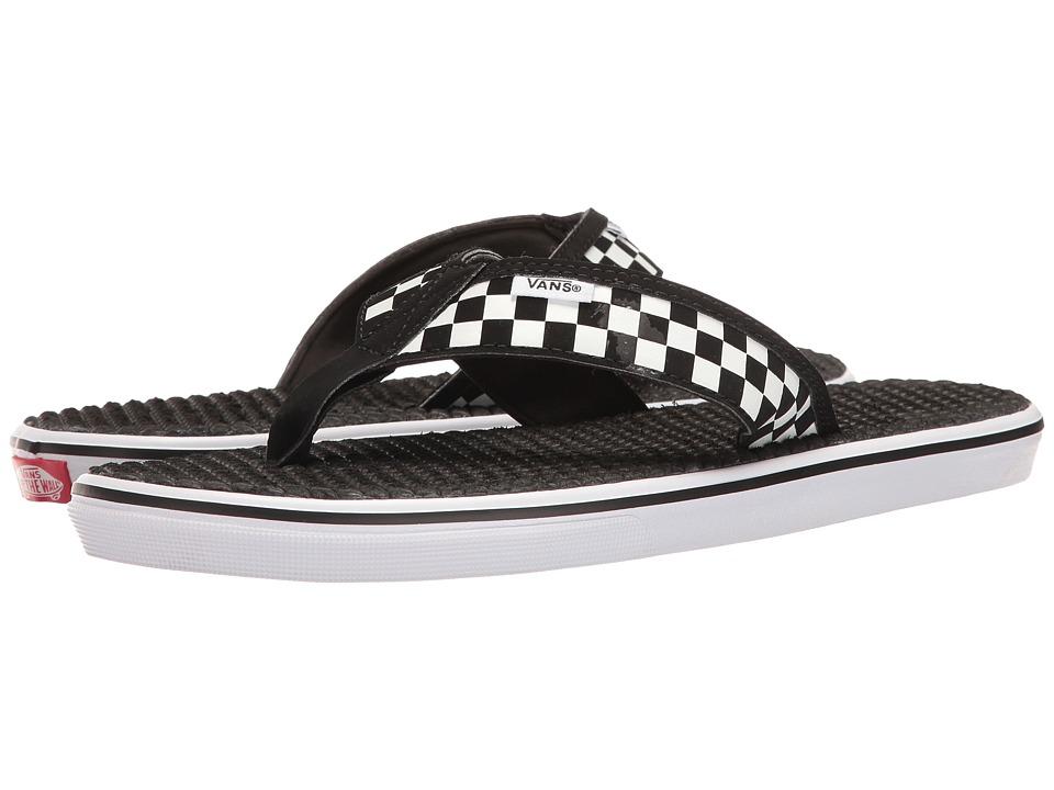 Vans La Costa Lite ((Checkerboard) Black/White) Men