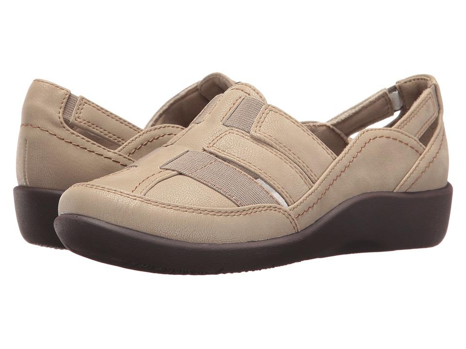 Clarks Sillian Stork (Sand/Sable Brown) Sandals
