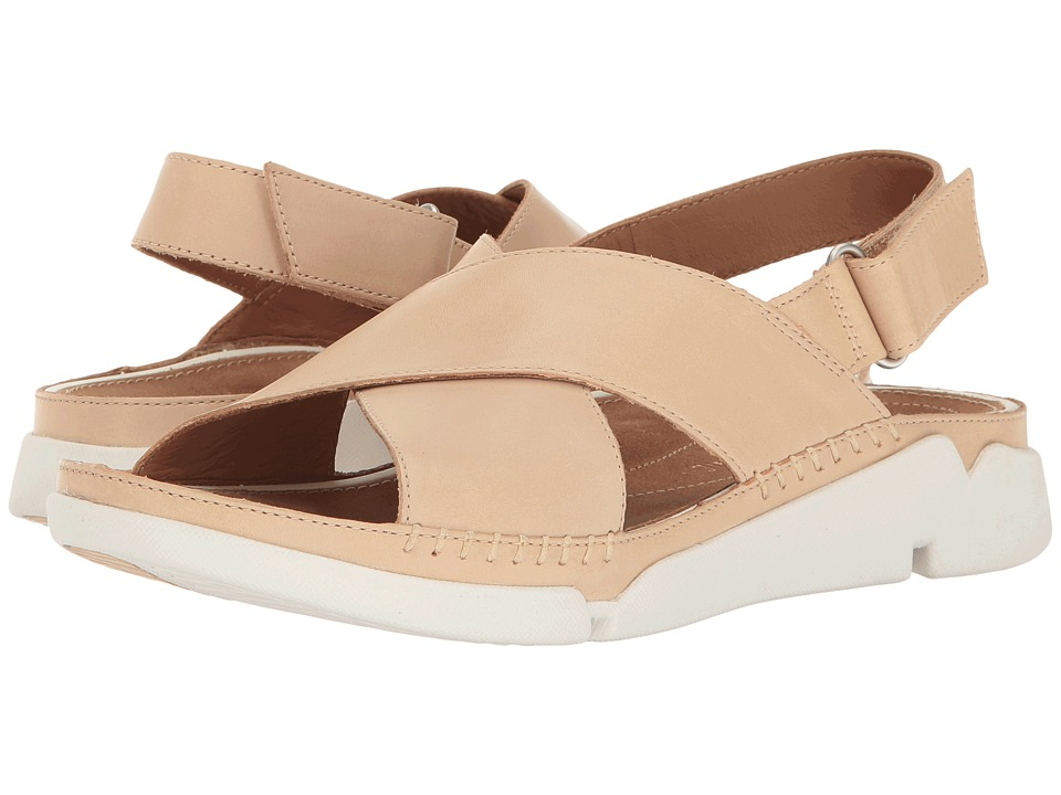 Clarks - Tri Alexia (Nude Leather) Womens Sandals