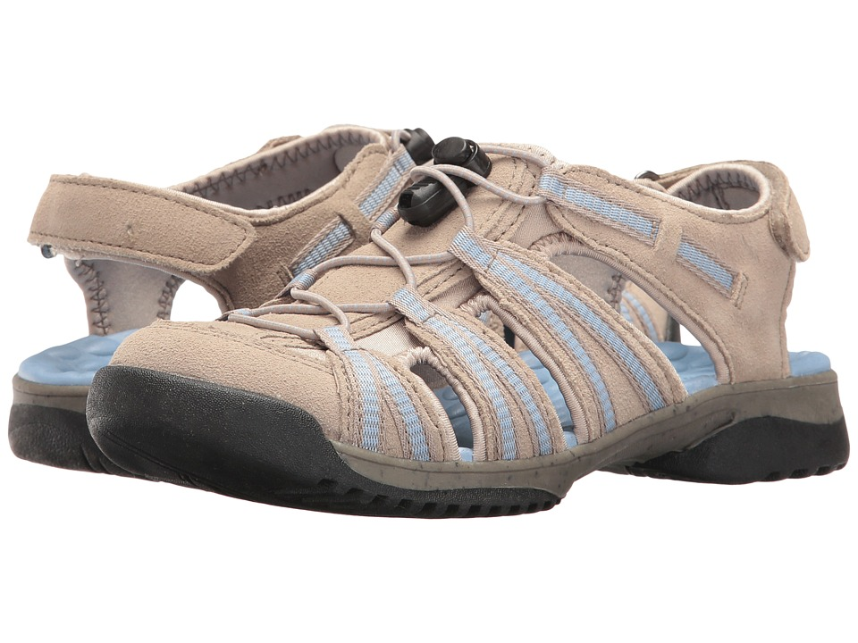 Clarks - Tuvia Maddee (Sand Suede) Women's Sandals