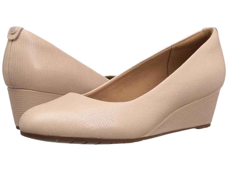 Clarks Vendra Bloom (Dusty Pink Lizard Leather) Women
