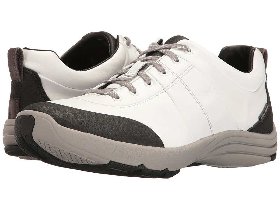 Clarks Wave Andes (White Leather) Women's Shoes