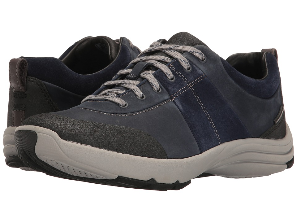 Clarks Wave Andes (Navy Nubuck) Women's Shoes