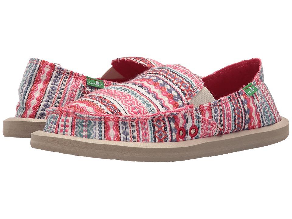 Sanuk Donna Blanket (Raspberry Lanai Blanket) Women