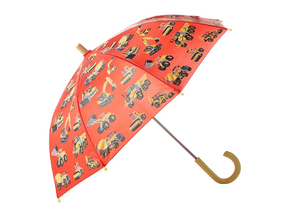 Hatley Kids - Heavy Duty Machines Umbrella (Red) Umbrella