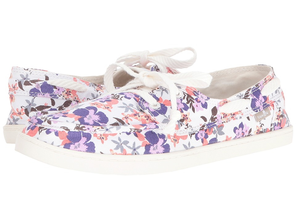 Sanuk Pair O Sail Prints (Liberty Waikiki Floral) Women