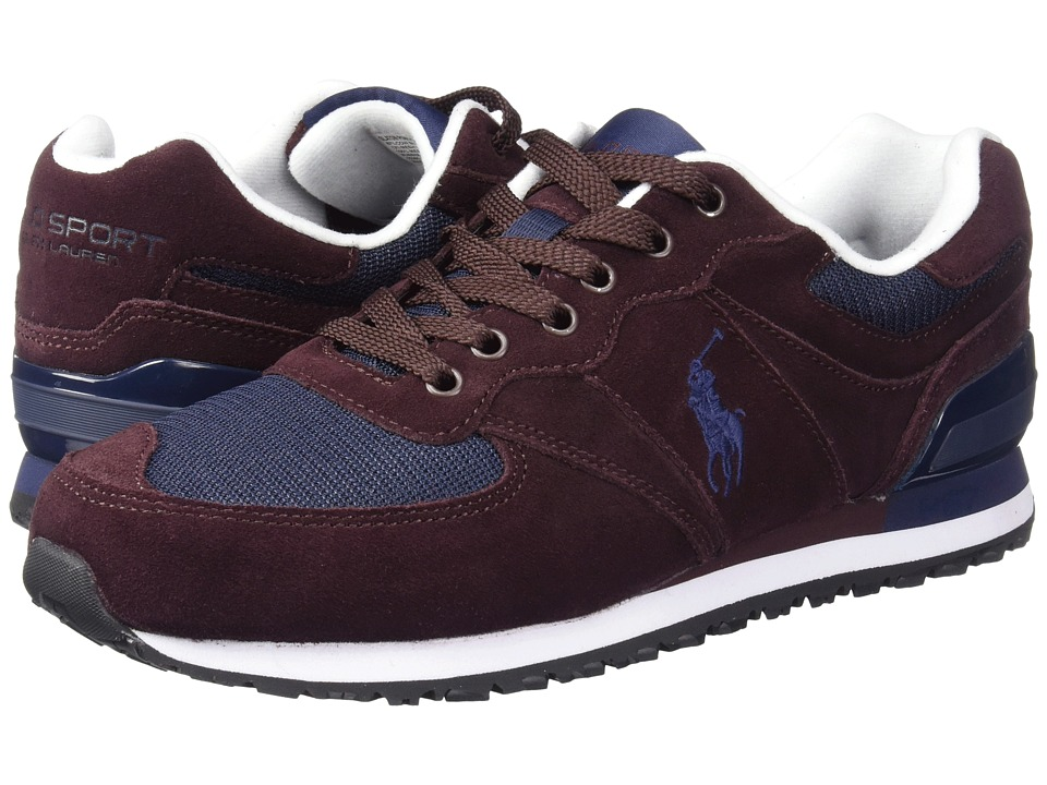Polo Ralph Lauren Slaton Pony (Oxblood/Newport Navy) Men