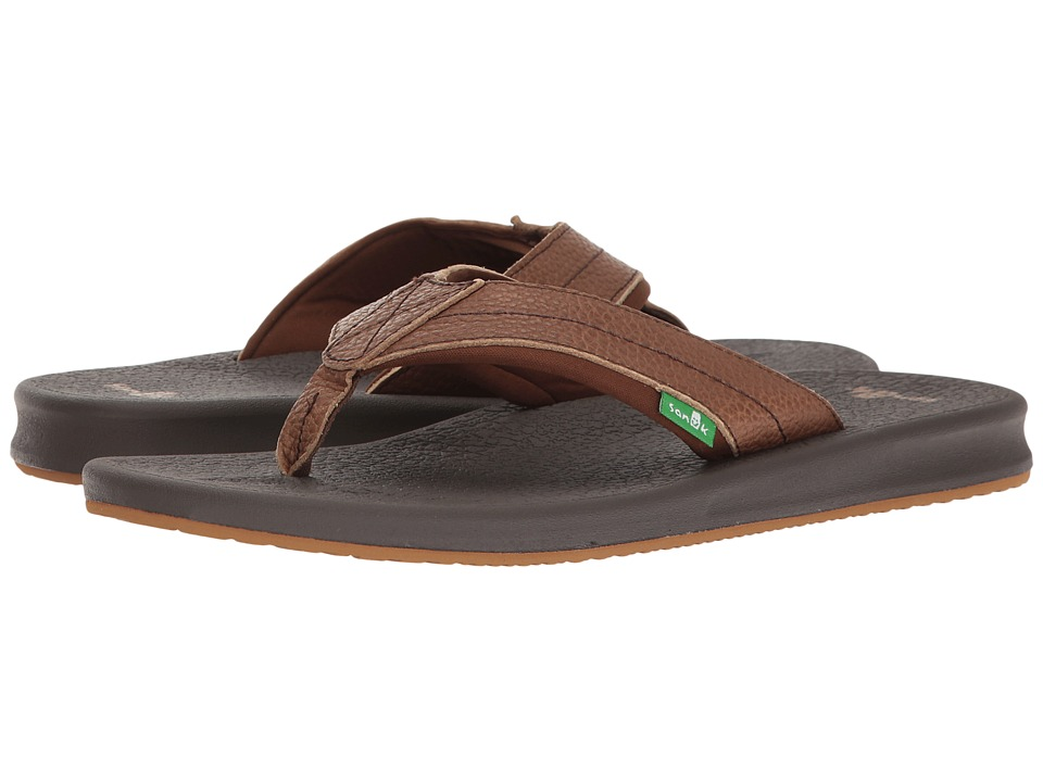 Sanuk - Brumeister Primo (Brown) Men's Sandals