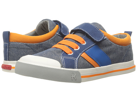 See Kai Run Kids Sammi (Toddler/Little Kid) - Blue/Orange