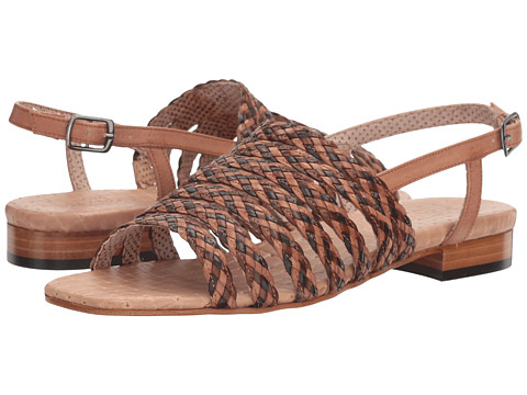 Sesto Meucci Geppy - Natural Stained Calf/Beige Multi Stain Calf