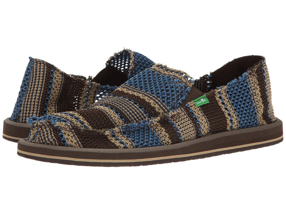 Sanuk Yew-Knit (Blue) Men