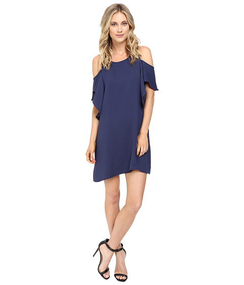 Brigitte Bailey Naomi Cold Shoulder Ruffle Dress