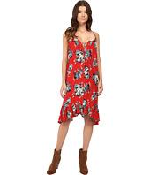 Brigitte Bailey - Mariposa Floral Print Tie Front Dress