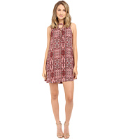 Brigitte Bailey - Yvette Lace-Up Sleeveless Dress