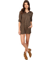 Brigitte Bailey - Lei Long Sleeve Button Up Romper