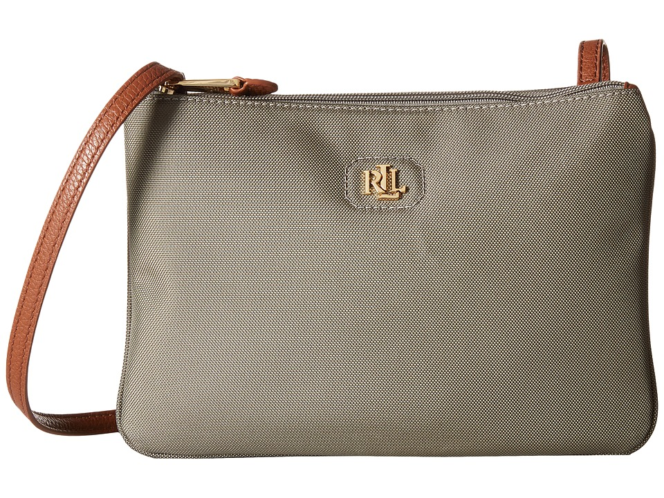 LAUREN Ralph Lauren - Tara Crossbody (New Khaki) Cross Body Handbags