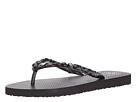 Tory Burch - Jeweled Flip Flop (Black)