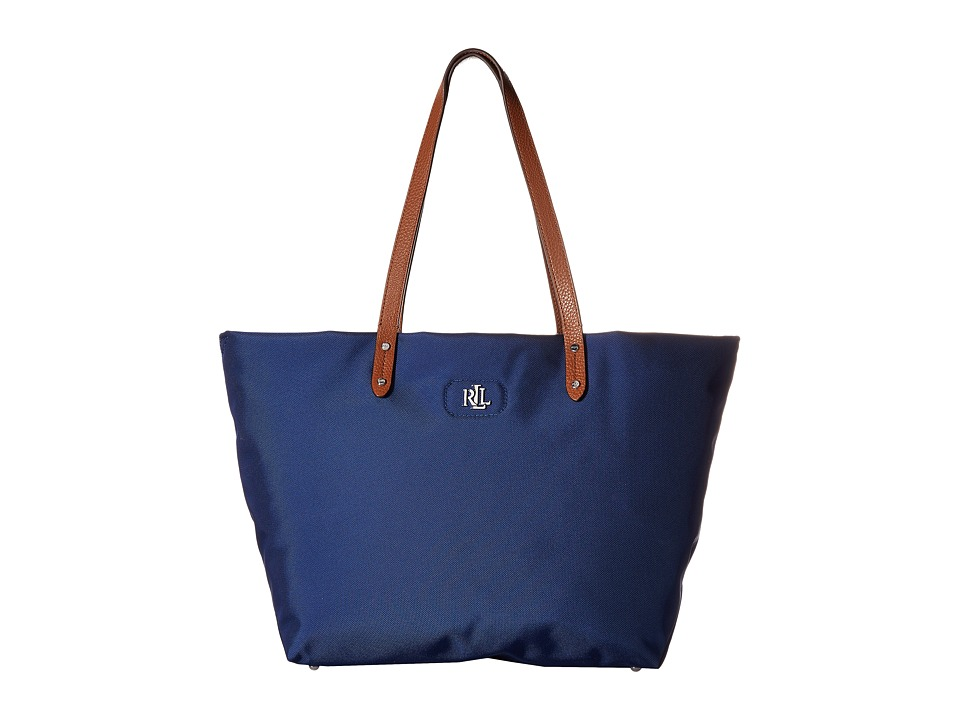 LAUREN Ralph Lauren - Bainbridge Tote (Bright Navy) Tote Handbags