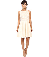Taylor - Shantung with Lace Party Dress