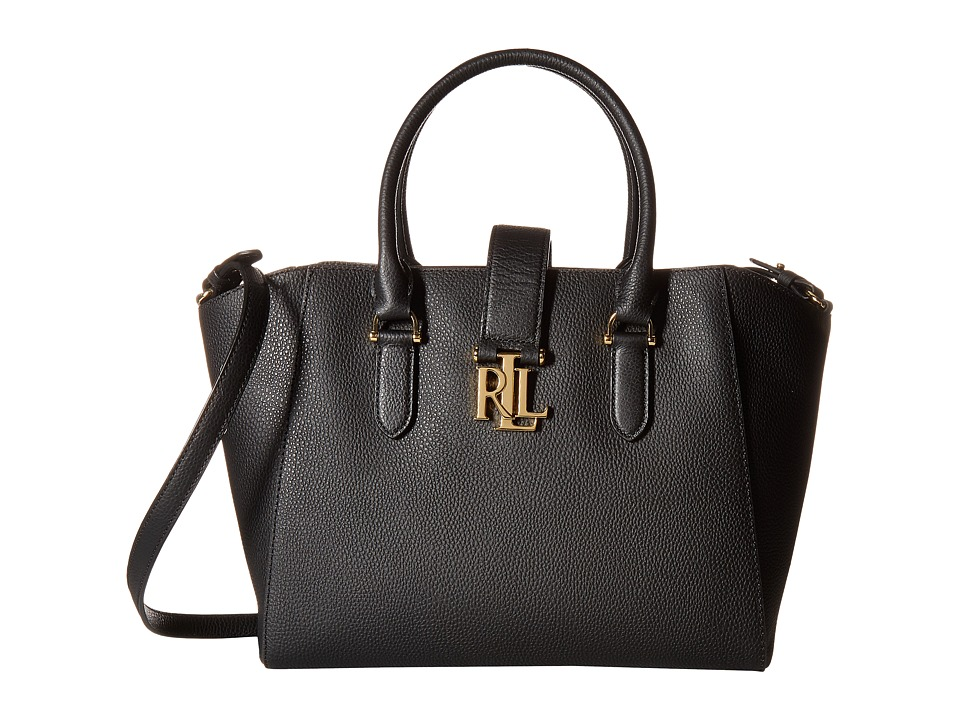 LAUREN Ralph Lauren - Carrington Bethany Shopper (Black) Handbags