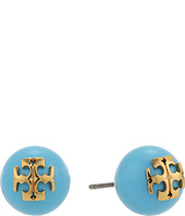 Tory Burch - Crystal Pearl Stud Earrings