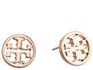 Logo Circle-Stud Earrings