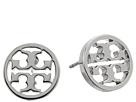 Tory Burch - Logo Circle-Stud Earrings