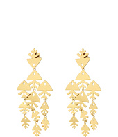 Tory Burch - Metal Fish Chandelier Earrings