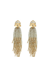 Tory Burch - Stone and Tassel Earrings