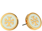 Tory Burch Tory Burch Lacquered Logo Studs Earrings