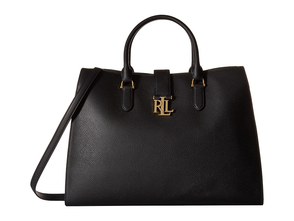 LAUREN Ralph Lauren - Carrington Bridgitte Tote (Black) Tote Handbags
