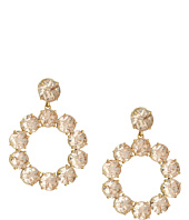 Tory Burch - Stone Wreath Drop Earrings