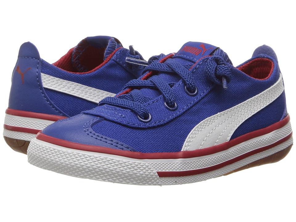 Puma Kids 917 FUN AC Inf (Toddler) (True Blue/Puma White) Boys Shoes