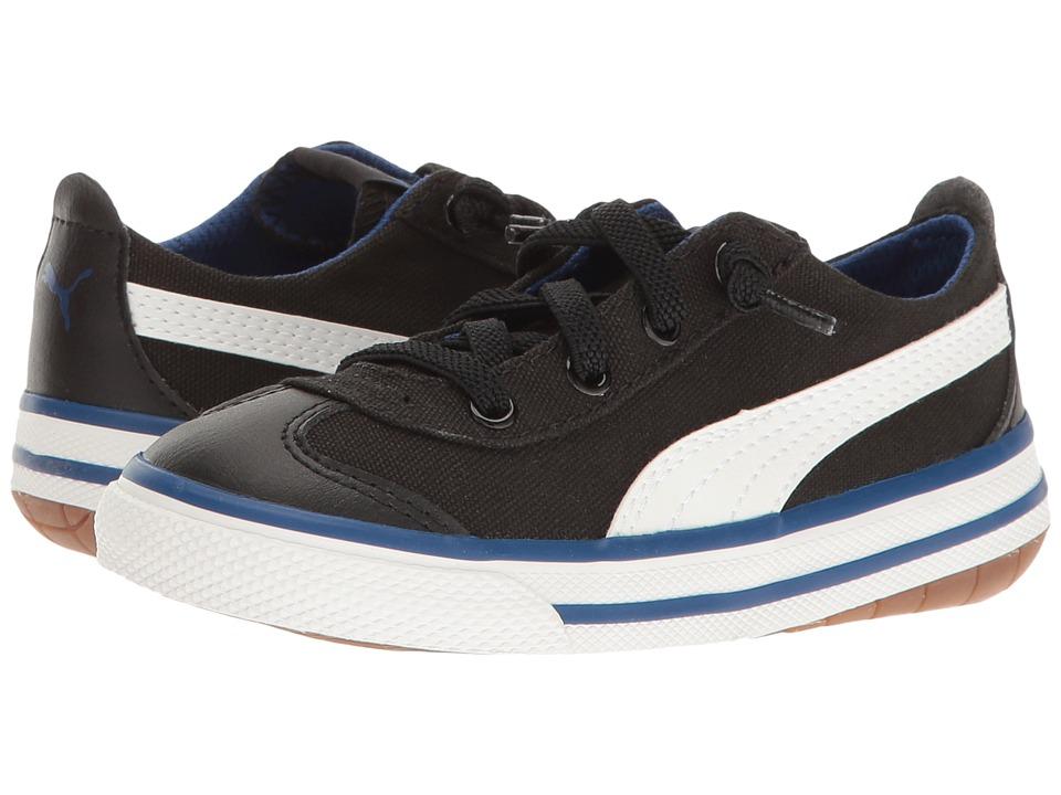 Puma Kids 917 FUN AC Inf (Toddler) (Puma Black/Puma White 1) Boys Shoes